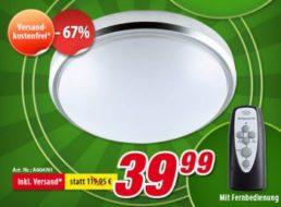 Völkner: LED-Deckenleuchte mit guten Bewertungen für 39,99 Euro frei Haus