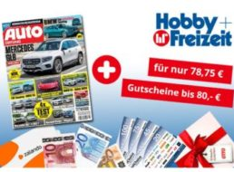 """""""Auto Zeitung"""": Jahresabo für 78,75 Euro mit Prämie über 80 Euro"""