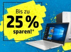 HP: Notebooks, PCs und mehr mit Rabatt für eine Woche