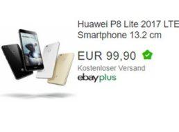 """Ebay: """"Huawei P8 Lite 2017"""" als B-Ware für 99 Euro frei Haus"""