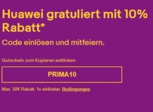 Hauwei: 10 Prozent Extra-Rabatt bei Ebay