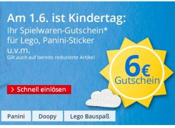 Hugendubel: 6 Euro Spielwaren-Rabatt ab 30 Euro Warenwert bis Sonntag