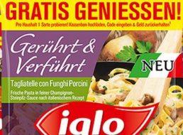 """Gratis: """"Gerührt und Verführt"""" von Iglo zum Nulltarif dank Cashback"""