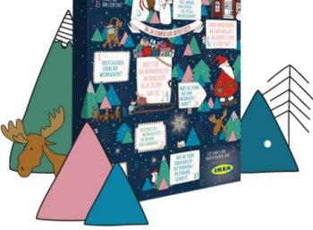 Ikea: Adventskalender 2016 mit Aktionskarten im Wert von mindestens 10 Euro