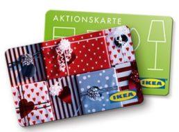 Ikea: Geschenkekarte mit zehn Prozent Extra-Guthaben