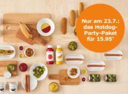 Ikea: Hotdog-Party-Paket für 32 Hotdogs zum Preis von 15,95 Euro