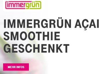 Gratis: Smoothie von Immergrün für Telekom-Kunden geschenkt