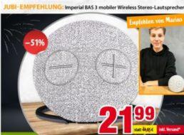 Völkner: Bluetooth-Lautsprecher mit Cardreader und Aux-In für 21,99 Euro