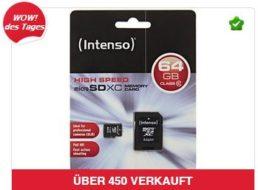 Ebay: Micro-SDXC-Karte mit 64 GByte für 22,22 Euro frei Haus