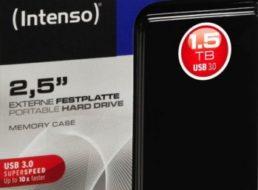 Ebay: Intenso Memory Case mit 1,5 TByte für 59,90 Euro frei Haus
