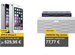Allyouneed: iPhone 6 mit 64 GByte für 529,95 Euro frei Haus