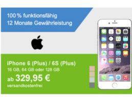 Allyouneed: iPhone 6 als Demoware für 329,95 Euro frei Haus