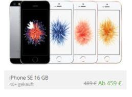 Groupon: iPhone SE für 439 Euro frei Haus dank Gutschein