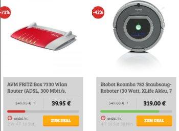 Dealclub: iRobot Roomba 782 als Vorführware für 319 statt 780 Euro