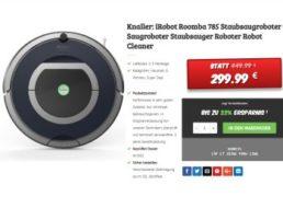 Dealclub: Staubsauger-Roboter iRobot Roomba 785 als Vorführware für 299,99 Euro