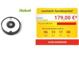 Comtech: iRobot Roomba 605 für 179 Euro frei Haus