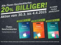 Lidl: 20 Prozent iTunes-Rabatt bis zum Karsamstag