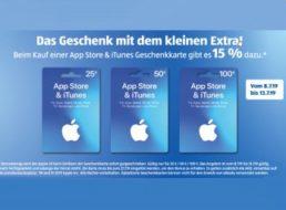 Aldi-Süd: 15 Prozent Bonus-Guthaben beim Kauf von iTunes-Karten