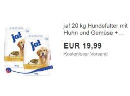 Ebay: 20 Kilo gut bewertetes Hundefutter mit Spielzeug für 19,90 Euro