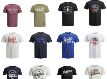 Jack & Jones: T-Shirts (neue Modelle) für 10,99 Euro frei Haus
