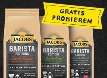 Gratis: Jacobs Kaffee via Cashback zum Nulltarif