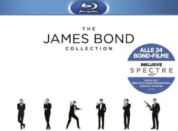 """Saturn: """"Bond Collection 2016"""" mit """"Spectre"""" auf Blu-ray für 88 Euro"""