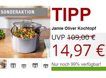 """Druckerzubehoer.de: """"Jamie Oliver Kochtopf"""" von Tefal für 14,97 Euro plus Versand"""