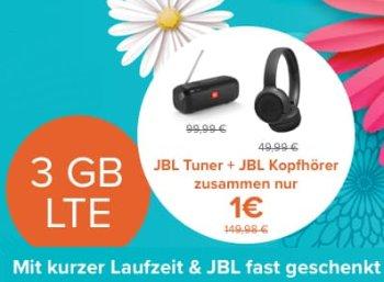 Knaller: JBL-Produkte im Wert von 132 Euro zum Handyvertrag für 88,93 Euro