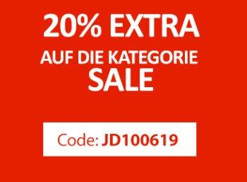 Jeansdirect: 20 Prozent Rabatt auf Sale-Ware von Lee, Mustang & Co.