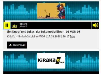 """Gratis: Hörspiel """"Jim Knopf"""" in sechs Teilen beim WDR zum Download"""