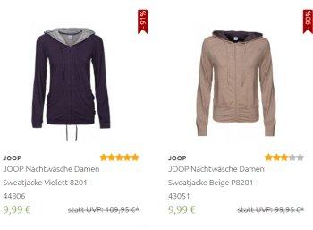 Outlet46: Unterwäsche und Nachtwäsche von Joop ab 4,99 Euro frei Haus