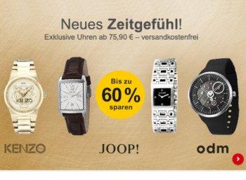 Allyouneed: Markenuhren ab 75,90 Euro mit Gratis-Versand