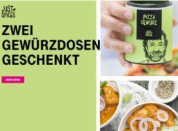 """Gratis: Zwei Gewürzdosen von """"Just Spices"""" für Telekom-Kunden"""