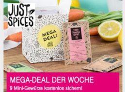 """Telekom: Neun Gewürzproben für 3,90 Euro frei Haus via """"Just Spices"""""""