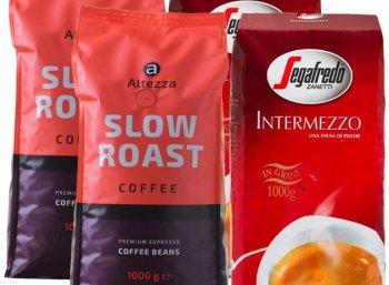 Exklusiv: Vier Kilogramm Kaffeebohnen zum Preis von 39,99 Euro frei Haus