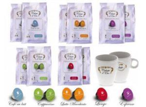 Kaffeevorteil: Kapselpackungen ab 4,49 Euro frei Haus, teils mit Lungo-Gläsern