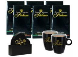Kaffeevorteil: Drei Kilo gemahlener Kaffee mit zwei Tassen für 34,99 Euro