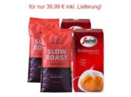 Kaffevorteil.de: Vier Kilo Kaffeebohnen für 39,99 Euro frei Haus