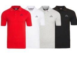 Kappa: Poloshirt für 12,99 Euro frei Haus via Ebay