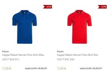 Kappa: Poloshirts für 7,99 Euro frei Haus