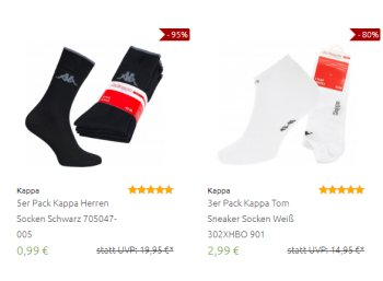 Outlet46: Kappa-Sale mit Mode-Schnäppchen ab 99 Cent