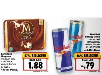 Kaufland: Viererpack Magnum für 1,88 Euro