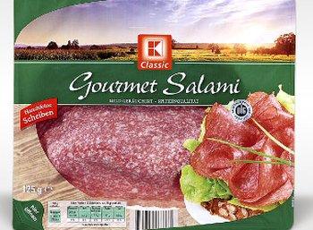 Salmonellen-Alarm: Kaufland ruft K-Classic Gourmet Salami zurück
