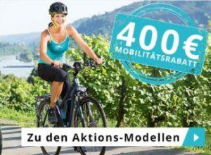 Kettler: eBikes mit 400 Euro Rabatt und Gratis-Versand