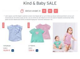 Tchibo: Sale-Artikel für Kinder und Babys nochmals 15 Prozent billiger