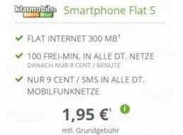 Modeo: 100 Freiminuten und 300 MByte im Telekom-Netz für 1,95 Euro