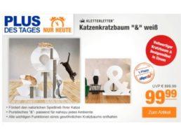 Plus: Kletterletter Design-Katzenbaum für 99,99 Euro frei Haus