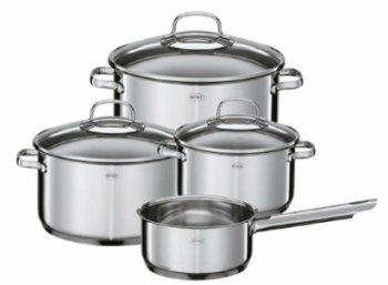Exklusiv: Viererset Kochtöpfe von Rösle für 49,99 Euro frei Haus