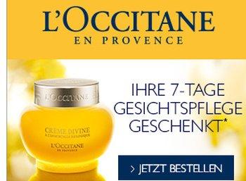 """Gratis: """"7 Tage Gesichtspflege"""" von L'Occitane zum Nulltarif"""