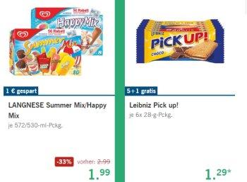 """Lidl: Langnese """"Happy Mix"""" und """"Summer Mix"""" ab Donnerstag reduziert"""